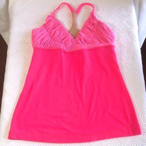 2 for 1! Lululemon Pure Balance Tanks Pink/White